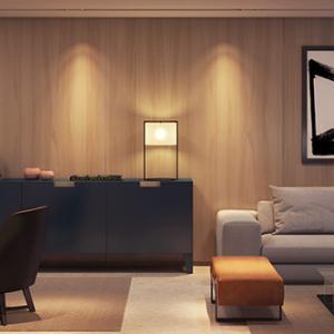 Living, terraço social e terraço gourmet - 163m²